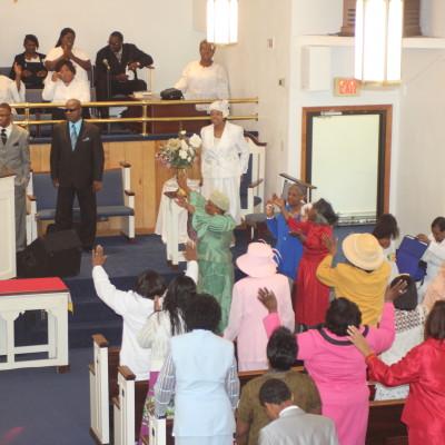 Bishop-preaching